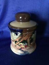 **ULTRA RARE** Royal Doulton 'Gnomes' Lidded Tobacco Jar (D4697)