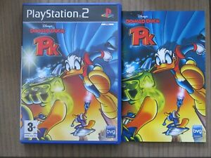 JEU PLAYSTATION 2 PS2 DISNEY'S DONALD DUCK PK COMPLET