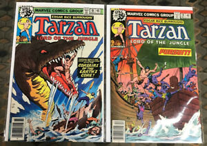 Tarzan Lord Of The Apes # 18,19 (9.4-9.8 Dead Stock)  Newsstand