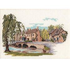 Derwentwater Designs Dale Designs Punto Croce Kit-Bourton-on-the - Water