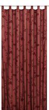 Schlaufenschal Elbersdrucke Floral Bonjour Taft 14 blickdichter Vorhang rot (26,