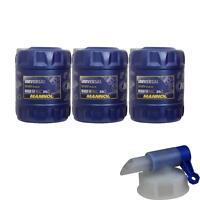 60L MANNOL Universal 15W-40 API SG/CD Öl Motoröl MN7405-20 inkl. Auslaufhahn