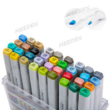 36 Pcs Art Sketch Markers Double Ended Drawing Mark Pen Copic Design Basic Set
