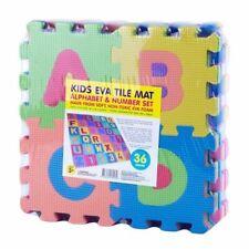 36packs Non-toxic Kids Eva Foam Mini Alphabet and Numbers Baby Mat