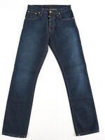 B-Ware Nudie Herren Regular Fit Jeans | Average Joe Worn Rinsed |W29 / W30