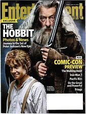 Entertainment Weekly The HOBBIT Ian McKellen Comic Con Preview July 13, 2012
