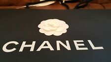 Chanel Black with White Flower Paper Gift/ Carrier Bag