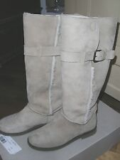 Hessnatur Stiefel Reiter natur beige Lammfell Gr.37 Impressionen NEU