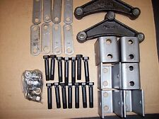 Utility Trailer Tandem Axle Leaf Spring Hanger Suspension Kit Double Eye