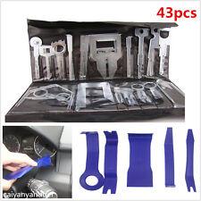 43 Pcs Stereo CD GPS Removal Interior Door Panel Kit Automotive Trim Repair Tool