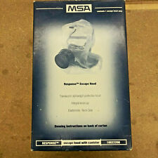 Nos Msa 10022208 Response Escape Hood With Canister Gas Mask