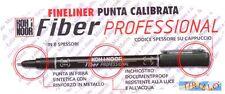GRAFICA MANGA DISEGNO - Pennarello marker Koh-I-Noor Fiber Professional nero 0,2