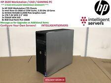 HP Z620 Workstation Xeon E5-2660 V2 2.20GHz 64GB 1TB SATA 256GB SSD NVS 300