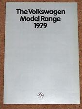 1979 VW RANGE Sales Brochure - Polo Derby Golf Scirocco Passat Passat Estate