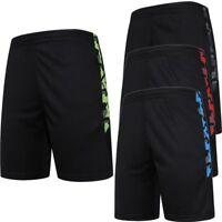 Men's Sports Soccer Shorts Training Quick Dry Running Short With Zipper Pocket