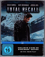 TOTAL RECALL EXTENDED CUT BLU-RAY STEELBOOK NEU & OVP SEALED AMAZON EXCLUSIVE