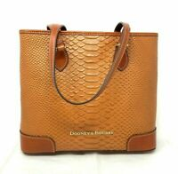 Dooney & Bourke BCALD1721  Richmond Leather Shopper/Tote Handbag Honey