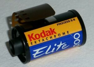 Kodak Ektachrome 200 Elite 35mm Color Slide Film Roll ED 36exp 200/24 Colour MNT