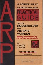 ARP (Air Raid Precautions) Booklet The Blitz World War II 1939-1945 Home Front