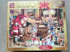 "King 1000pce puzzle ""Santa's Workshop"" BNIB"