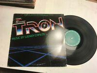 Tron wendy carlos ost vinyl LP 1982 soundtrack vinyl original synth rare PROMO!!