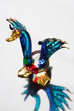 Swan Blowing Glass Miniature Animals Handmade Figurine Fancy Collectibles Decor