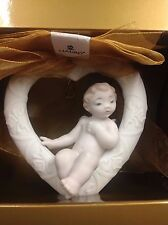"Lladro ""A Wish For Romance"" 01016734 Holiday Christmas Ornament Mint ~New In Box"