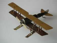 """WW1, WWI Russian Empire Airplane """"Лебедь XII"""" model, Decor, Trench Art (1125)"""