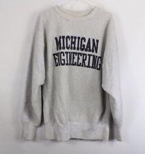 0fb9d0f98fb20 vintage grey sweatshirt michigan | eBay