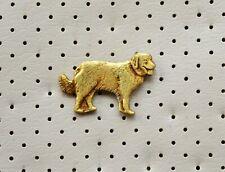Kuvasz Dog Breed Vintage Pin Badge