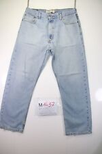Levi's 505 Regular Fit (Cod. M1437) tg50 W36 L30 jeans usato vintage levis