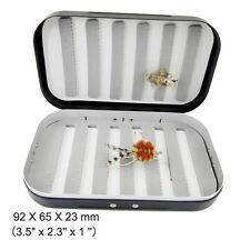 "Aluminum Mini Size Box For Drys/Nymphs/Trouts/Small Streamer 3.5"" x 2.3'' x 1 ''"