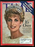 TIME Magazine - Mar 11 1996 - DIANA & CHARLES' DIVORCE / Bob Dole / Fidel Castro