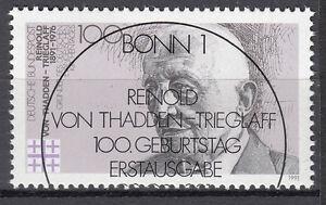 BRD 1991 Mi. Nr. 1556 gestempelt BONN Sonderstempel , mit Gummi (17738)