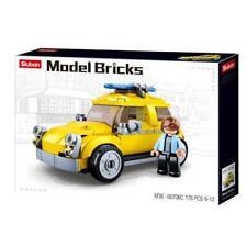 Sluban M38-B0706C Model Bricks deutscher Kleinwagen ähnlich Käfer