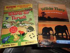 2 Tierbücher für junge Leser mit Sticker, 1 x original verpackt
