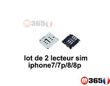 lot de 2 lecteur CARTE SIM iphone7 / iphone 7plus /  iphone 8 plus / iphone 8