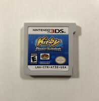 Kirby Planet Robobot (Nintendo 3DS, 2016) Fast Free Shipping