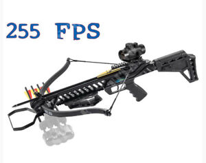 Fucile Balestra Sportiva Tactical Professionale Frecce Red Dot 175lb 255Fps