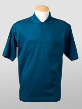 New Paul & Shark Blue Cotton Polo Shirt  Size S