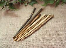 BUTW Hand Carved Camel Cow Bone Triscele  Hair Stick Comb  3727P