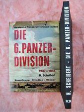 Die 6. Panzer-Division 1937-1945   -  Bildband  -  Podzun-Verlag 1975