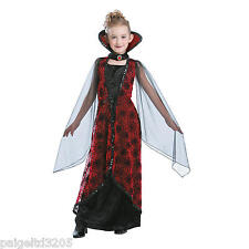 Totally Ghoul  Winged Vampiress  Girl's Halloween Costume Black&Red Small (6-8)