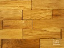 Wall Cladding Wood Paneling 3D Vintage Planed Oak Panel Solid Natural Oiled