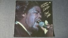 BARRY WHITE - JUST ANOTHER WAY TO SAY I LOVE YOU .     LP.