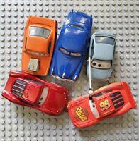 Disney Pixar Cars Lenticular Eyes Lot x5 Lightning Doc Snot Rod Matti Diecast
