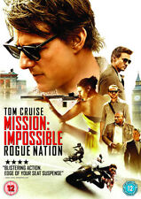MISSION IMPOSSIBLE - ROGUE NATION - NEW / SEALED DVD - UK STOCK