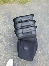 "1 OEM SOft Bag For Craftsman Husqvarna 3 Bin Soft Bagger 48"" Deck Riding Mowers"