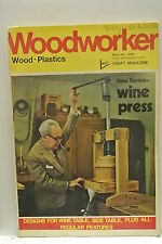 Woodworker Magazine. March, 1971. Volume 75, number 928. Wine Press & Table.