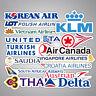 Anime Stickers 55 Vintage Designs Retro Airlines Luggage Travel Laptop Graffiti!